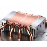Soldered Pin Fin Heat Sink With Copper Pipe Liquid Evaporate Technology Manufactures