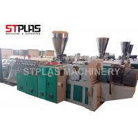 High Output Plastic Pipe Making Machine PVC Pipe Extrusion Line Stable Running Manufactures
