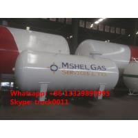 High Quality CLW brand 12m3 bulk surface LPG Gas Storage Tank  for sale, best price 12,000L surface lpg gas storage tank Manufactures