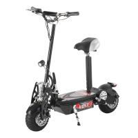 48V12A Folding Electric Scooter 1000W Foldable Electric Scooter With Seat Manufactures