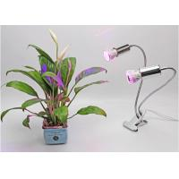 Double Head 10W led plant grow lights  , 85 - 265V led greenhouse lights Manufactures