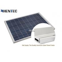 CA And CE Aluminum Solar Panel Frame 6063-T5 With Oxidized / Anodizing Manufactures