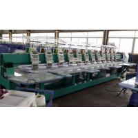 Electronic Flat Embroidery Machine / Thailand Lace Embroidery Machine Multipurpo