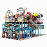 China Cheer Amusement Space Themed Indoor Playground Equipment on sale
