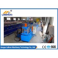 Siemens PLC Control Channel Roll Forming Machine 15 Meter Per Minute Production Speed Manufactures