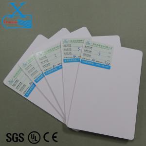 3mm white rigid advertising sign board 4x8 pvc foam sheets printing thin flexible plastic sheets cutting board sheet Manufactures