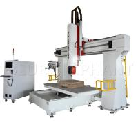 China 3d Pattern 5 Axis Cnc Router Machine  For Wood Cutting 11KW Imported Taiwan DELTA Inverter on sale
