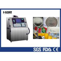 Industrial CIJ Automatic Inkjet Coding Machine 4 Lines For Small Round Bottle Manufactures