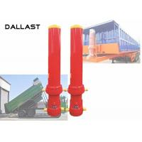 Telescoping Dump Truck Hydraulic Ram Cylinder with ISO / Ts16949 Manufactures