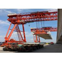 Hydraulic Launching Gantry Crane Steady Flexible High Operating Efficiency Manufactures