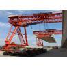 Durable Steel Bridge Girder Launcher , Launcher Crane For Bridge Tunnel for sale