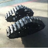 Small Black Wheel Track System LP-180 For 200-300kg ATV Car ISO9001 Approval