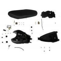 Black Color Motorcycle Spare Parts Oil Tank Big Capability For CS ONE Model Manufactures