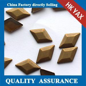 hot fix copper,dome stud,convex hotfix;high quality hotfix copper Manufactures