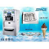 6248A Gravity Feed Table Top Ice Cream Machine For Business Stainless Steel Material Manufactures