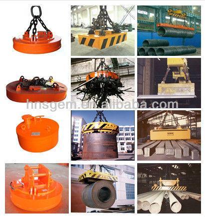 Crane Lifting Magnet for Lifting Scrap, Magnet Lifting Equipment