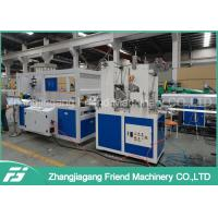 200-600mm Pvc Ceiling Panel Extrusion Machine For Sheet Double Screw Design Manufactures
