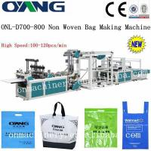 ultrasonic sealing automatic non woven box bag making machine / machinery Manufactures