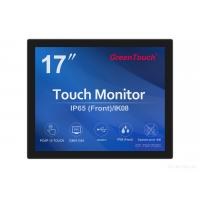 5 / 4 17 Inch Open Frame Touch Screen Monitor For Pc With VGA / DVI / USB Manufactures