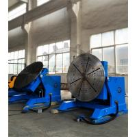 2000kg Rotary Welding Table Positioner with Rotating / Tilting Motor and Gear Manufactures