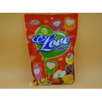 Heart Shape Lollipop Healthy Hard Candy / Low Cal Candy For Children baby candy