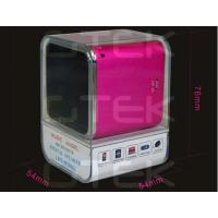Perfect Sound MP3 MP4 Portable Digital Speaker With TF Card Slot Manufactures