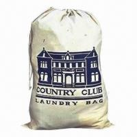 Laundry Bag for Hotel Use, Made of 100% Cotton Poplin Fabric Manufactures
