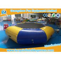 China Airtight Sealed Inflatable Water Park Games 3 Years Warrant Commercial Grade on sale