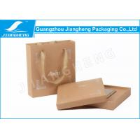 Cigarette Packaging Coloured Cardboard Gift Boxes With Handles Silver Hot Stamping Logo Manufactures