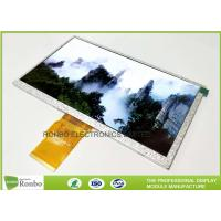 High Brightness 7.0 inch 1024x600 Tablet LCD Display Thin Thickness LCD Panel Manufactures