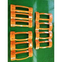 China Durable API Casing Spring Centralizer , Well Centralizers Customized Size on sale