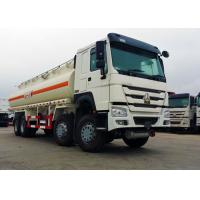 25 CBM 8x4 Oil Tanker Truck Stainless Steel Material 371HP Diesel Engine Manufactures