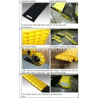School Zone Traffic Control Removable Speed Bumps Cap Foldable With Carriage Bag