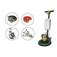 Wood / Tile / marble / Cement floor buffing machine , CE 110v floor scrubber Manufactures
