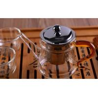 Pyrex Microwave Heating Glass Tableware Teapots with Stainless Steel Infuser & Lid Manufactures