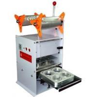 Four Cups Plastic Cup Sealing Machine 220V 50HZ Cup Sealer Sealing Machine Manufactures