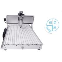 Quality four axis CNC Router 6040 800W/1.5KW spindle + 4axis + tailstock engraving mahcine for sale
