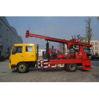 Natural Gas Truck Mounted Drilling Rig , Trailer Mounted Drilling Rigs Manufactures