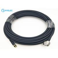China rf wifi antenna extension cable with RP SMA Male To N Male  connector for LMR240 on sale