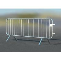 Road Safety Crowd Barrier Control Temporary Mesh Fence 25mm Round Pipe Frame Manufactures