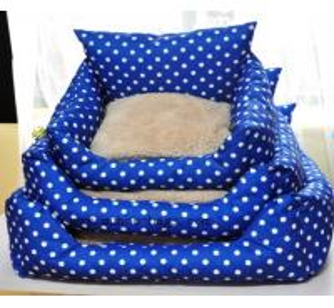 dots pet bed ,dots pet cushion MH-2034 Manufactures