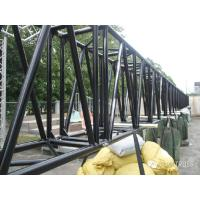 Black Aluminum Square Truss 1100mm X 600mm Heavy Duty Truss For Big Event Manufactures