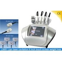 Portable Fat RF Laser Lipo Machine For Body Shaping , Pain - Free 0.8MHz LS651 Manufactures