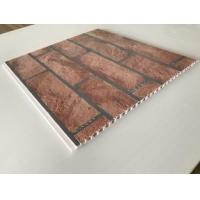 Brick Decorative Plastic Wall Panels Hot Stamping X Hollow Core Structure Manufactures
