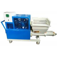 Spray Evenly Mortar Plastering Machine Strong Adhesion Low Failure Rate