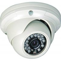 PAL / NTSC Wide Angle Indoor Security Cameras IR 850nm , 0 LUX For Business Hall Manufactures