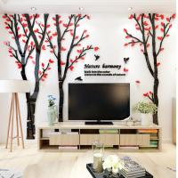 New design wall sticker family tree wall sticker acrylic home decoration, living room decals Manufactures