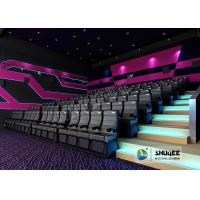 Exciting 4D Movie Theater With Circular Screen , 4D Theater System Manufactures