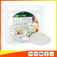 "Silicone 8 "" Kitchen Non Stick Baking Sheet / Parchment Paper For Cooking Manufactures"