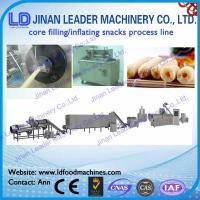 Core Filling Inflating Snacks Process Line automatic food machine Manufactures